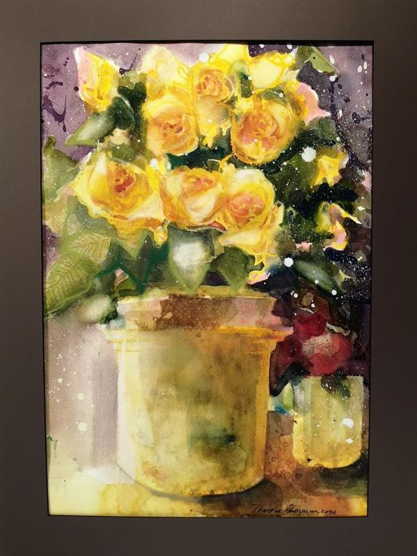 Att odla vänskap och att måla rosor är en konst!